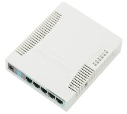 Wi-Fi маршрутизатор (роутер) Mikrotik RouterBOARD 951G-2HnD